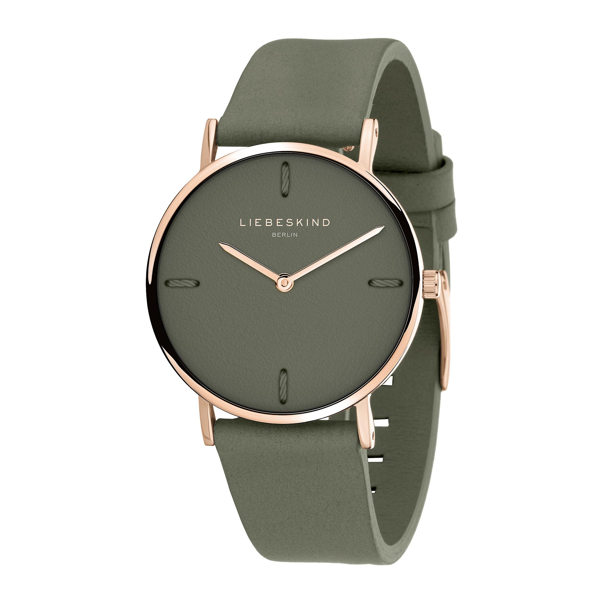 LT-0133-LQ LIEBESKIND BERLIN Armbanduhr Leder Vintage-Look