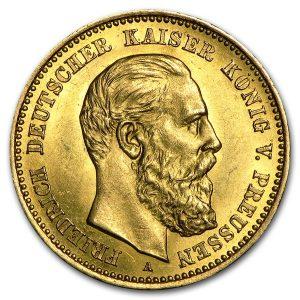 10-mark-friedrich-iii-deutscher-kaiser-koenig-von-preussen-1888-a-goldmuenze-kaiserreich-jaeger-247-2